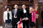 Image: Councillor Nigel Picken and High Sheriff